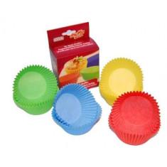 Χάρτινες Θήκες Για Cup Cake Χρωματιστές Kaiser 8.5cm