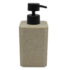 Dispencer Θήκη Για Κρεμοσάπουνο Πέτρα Μπεζ