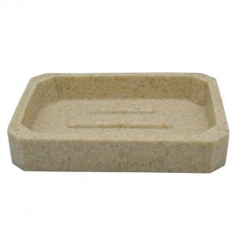 Θήκη Για Σαπούνι Πέτρα Μπεζ