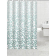 Κουρτίνα Μπάνιου Leaves Υφασμάτινη 180x180cm