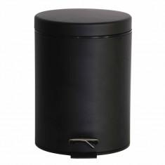 Πεντάλ Μεταλλικό Στρογγυλό 5lit. Black