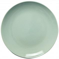 Πιάτο Ρηχό 27cm Κεραμικό Tirquοise Dots Happy Ware Alfa
