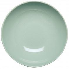 Πιάτο Βαθύ 22cm Κεραμικό Tirquοise Dots Happy Ware Alfa