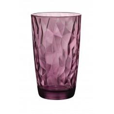 ποτήρι νερού bormioli diamond μώβ
