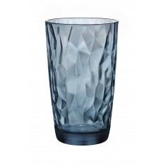 ποτήρι νερού bormioli  diamond μπλέ 47cl