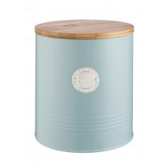 Μπισκοτιέρα Μεταλλική Living Light Blue Typhoon