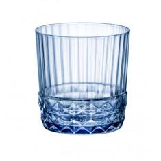 Ποτήρι Ουίσκι America ΄20s Sapphire Blue Bormioli Rocco 380ml