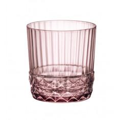 Ποτήρι Ουίσκι America ΄20s Lilac Rose 380ml Bormioli Rocco