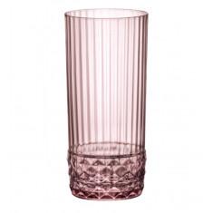 Ποτήρι Νερού America '20s Lilac Rose 490nl Bormioli