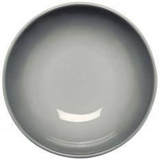 Πιάτο Βαθύ 22cm Κεραμικό Γκρι Spary Happy Ware Alfa