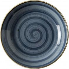 Πιάτο Βαθύ Πορσελάνης Porline Blue 21cm Porline Porselen
