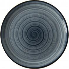Πιατέλα Στρογγυλή  Πορσελάνης Porline Blue 30cm Porline Porselen