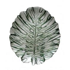 Πιατέλα Γυάλινη Φύλλο  Jungle 32cm