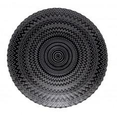 Πιατέλα Γυάλινη Kaleidoscope 32cm