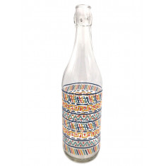 Μπουκάλι Γυάλινο Lella Tribal 1lt. Borgonovo