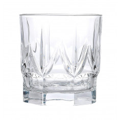 Ποτήρι Ουίσκυ Chic Σετ 6Τμχ Κρυστάλλινο 430ml Rcr