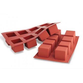 Φόρμα Σιλικόνης Silikomart Cubes 8 θέσεων