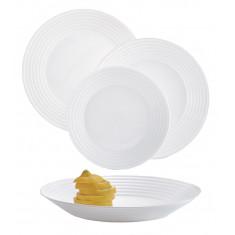 Σερβίτσιο Φαγητού Harena 19Τμχ. Λευκό Luminarc