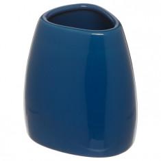 Θήκη Για Οδοντόβουρτσες Κεραμική Μπλε 5five