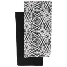 Πετσέτες Κουζίνας βαμβακερές Σετ 2τμχ. Tuxedo 40Χ40 Andrea Fontebasso
