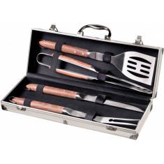 Σετ BBQ 4 Εργαλεία Σε Μεταλλική Κασετίνα Brandani