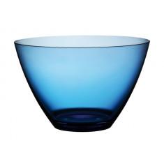 Μπολ Παγωτού Πλαστικό Drop Μπλε 12cm