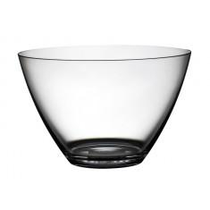 Μπολ Παγωτού Πλαστικό Drop Διάφανο 12cm