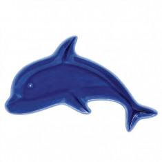 Πιάτο Πορσελάνης Δελφίνι Fish blue 26cm R2S