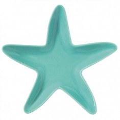 Πιατέλα Πορσελάνης Αστερίας Fish Aqua 23cm R2S