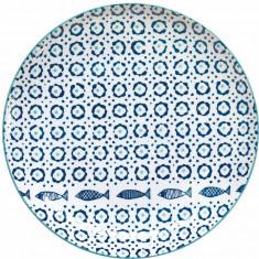 Πιάτο Ρηχό Πορσελάνης Sea Shore 27cm R2S