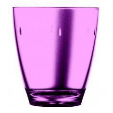 Ποτήρι Νερού - Αναψυκτικού Πλαστικό Drop Μωβ 380ml