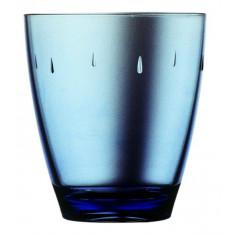 Ποτήρι Νερού - Αναψυκτικού Πλαστικό Drop Μπλε 380ml
