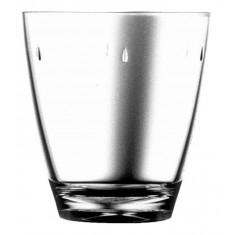 Ποτήρι Νερού - Αναψυκτικού Πλαστικό Drop Διάφανο 380ml