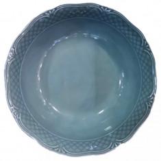 Μπολ Σαλάτας Πορσελάνης Στρογγυλή Arianna Blue Housmann 23cm