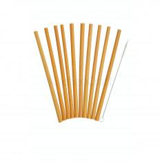Καλαμάκια Bamboo Elements Σετ 10τμχ. Kitchencraft