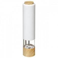 Μύλος Αλατοπίπερου Ηλεκτρικός Modern White 23cm 5five