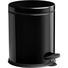 Πεντάλ Μεταλλικό Στρογγυλό 5lit. Micro Mat Black