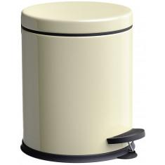Πεντάλ Μεταλλικό Στρογγυλό 5lit. Micro Beige