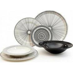 Σερβίτσιο Φαγητού 20τμχ. Στρογγυλό Tiffany Geometric