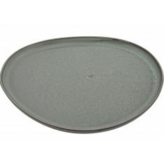 Πιατέλα Πορσελάνης Στρογγυλή Granite Glased Beige 34cm