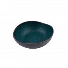 Πιάτο Πορσελάνης Βαθύ Granite Petrol 18cm