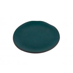 Πιάτο Πορσελάνης Φρούτου Granite Petrol 18cm