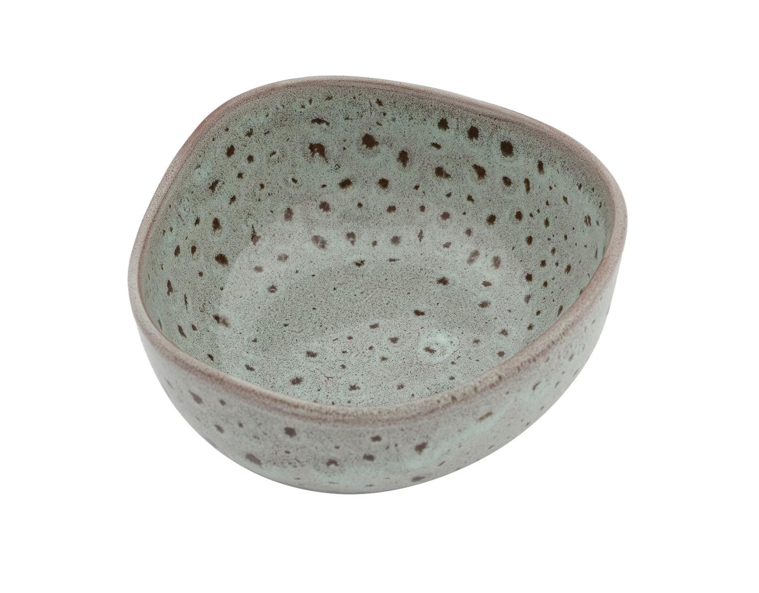 Μπολ Πορσελάνης Granite Glased Beige 9cm