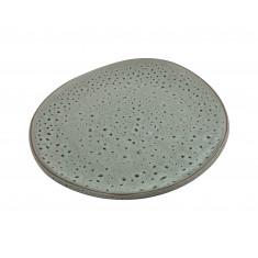 Πιάτο Πορσελάνης Φρούτου Granite Glased Beige 18cm