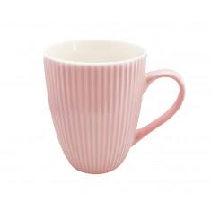 Κούπα Πορσελάνης New Bone China Stripe Pink 350ml