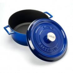 Κατσαρόλα - Γάστρα Από Μαντέμι 28cm Μπλε Lava