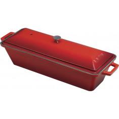 Σκεύος Από Μαντέμι Για Ψωμί 26cm Κόκκινο Lava