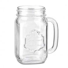 Ποτήρι Με Χέρι Drinking Jar Country 48cl Borgonovo