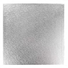 Βάση Τούρτας Τετράγωνη Αλουμινόχαρτου 25cm Tala