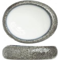 Μπολ Πορσελάνης Οβάλ Sea Pearl 19cm Cosy & Trendy